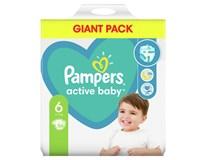 Pampers Active Baby Plenky dětské M7 S6 1x56ks