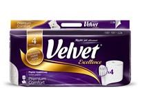 Velvet Excellence Premium Toaletní papír 4-vrstvý 1x8ks