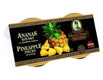 Franz Josef Kaiser Ananas kousky 2x135ml