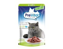 Prevital Sterile kapsičky pro kočky losos 28x85g