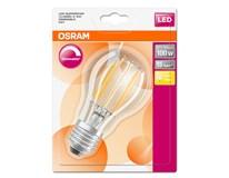 Žárovka Osram LED DIM 12W E27 Filament CL teplá bílá 1ks