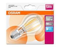 Žárovka Osram LED 11W E27 Filament CL studená bílá 1ks