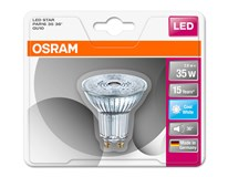 Žárovka Osram LED 3W GU10 studená bílá 1ks