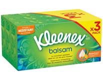 Kleenex Balsam kapesníky 3-vrstvé 3x72ks box