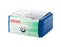 Pokladnička Sigma 81x260x184 M stříbrná 1ks