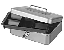 Pokladnička Sigma 72x204x150 S stříbrná 1ks