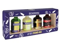 Becherovka 14,4-38% 4x50ml