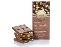 Venchi Čokoláda mléčná s lískovými oříšky 1x100g