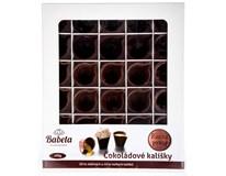 Cukrářská dekorace z čokolády Kalíšek mix 1x400g