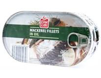 Fine Life Makrela filety v rostlinném oleji 3x170g