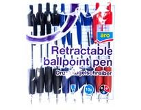 ARO Pero kuličkové 1,0mm mix barev 1x10ks