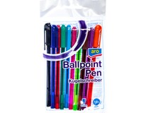 Kuličková tužka ARO 0,7mm mix barev 10ks