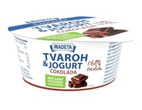 Madeta Tvaroh s jogurtem čokoláda chlaz. 1x135g