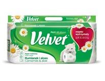 Velvet Toaletní papír heřmánek 3-vrstvý 1x8ks