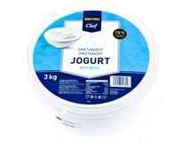 Metro Chef Jogurt bílý smetanový 10% chlaz. 1x3kg