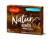 Vitana Natur Bujón hovězí 6kostek 1x60g