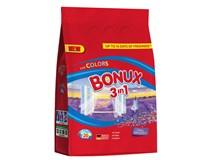 Bonux 3v1 Color Caring Lavender Prášek na praní (20 praní) 8x1,5kg