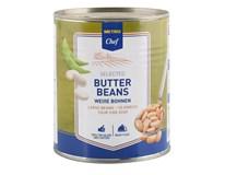 Metro Chef Fazole máslové bílé ve slaném nálevu 1x800g