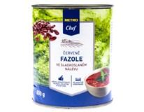 Metro Chef Fazole červené ve sladkoslaném nálevu 1x800g