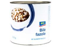 ARO Fazole bílé ve slaném nálevu 1x2500g