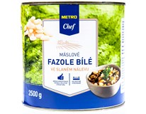 Metro Chef Fazole máslové bílé ve slaném nálevu 1x2500g