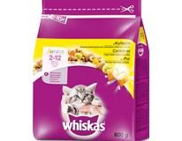 Whiskas Junior kuře granule pro kočky 1x800g