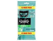 Wilkinson Sword Xtreme 3 Pure Sensitive pánské holítko jednoráz. 1x12 ks