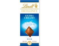Lindt Excellence Čokoláda Extra Creamy 1x100g
