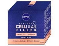 Nivea Hyaluron Cellular Filler remodelační noční krém 1x50ml