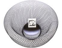 Košík APS kov 31cm černý 1ks