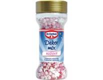 Dr.Oetker Dekorace mix růžový 1x50g