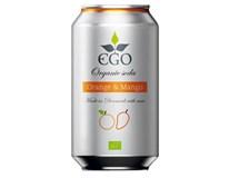 Ego Limonáda pomeranč/ mango BIO 1x330ml