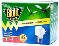Biolit Elektrický odpařovač s tekutou náplní 45nocí 1x1ks + náhradní náplň 1x27ml