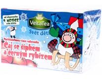 VeltaTea Vochomůrkovy zimní radovánky čaj šípek&černý rybíz 1x40g