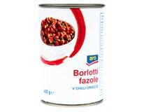 ARO Fazole Borlotti s chilli 1x400g