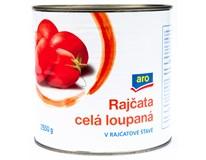 ARO Rajčata celá loupaná v rajčatové šťávě 1x2550g