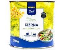 Metro Chef Cizrna ve slaném nálevu 1x2500g