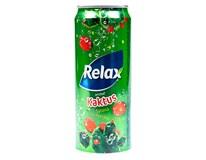 Relax Kaktus nápoj 12x330ml plech