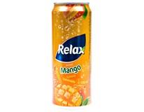 Relax Mango nápoj 12x330ml plech