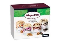 Häagen-Dazs Favourite Selection zmrzlina mraž. 4x95ml multipack