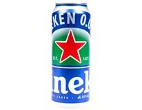 Heineken nealkoholické pivo 0,0% 24x500ml plech