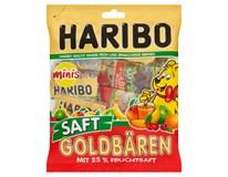 Haribo Goldbären Šťáva Minis Fruchtsaft 25% ovocné želé 1x220g