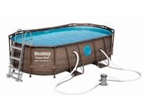 Bazén s konstrukcí 427x250x100cm 1ks