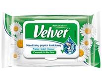 Velvet Toaletní papír vlhčený heřmánek 1x42ks