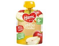 Hami Kapsička jablka/hrušky od 4.měsíce 1x90g
