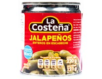 La Costeňa Jalapeno celé 1x220g