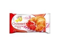 Croissant Strawberry filling s náplní jahodovou 36x50g