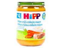 Hipp Příkrm mrkev-rýže-telecí BIO 1x190g