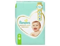 Pampers Premium Care pleny dětské 1x38ks