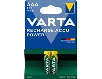 Baterie Varta Recharge Accupower 800mAh nabíjecí AAA 2ks